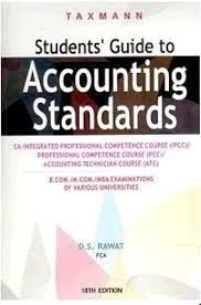 student u0027s guide to accounting standards ca ipcc pcc atc 18th