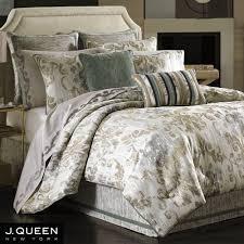 New York Bed Set Seville Damask Scroll Comforter Bedding By J New York