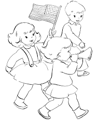kids and american flag coloring page flags coloring pages of