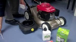 honda hrx217 type servicing a honda lawnmower with the honda service kit