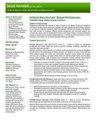 interior design cover letter examples creative resume design