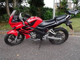 honda cbr 125cc honda cbr125 rw 6 2007 motorbike new mot excellent condition