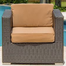 Patio Furniture Sectional Seating - avery island 16 piece resin wicker patio sectional seating set
