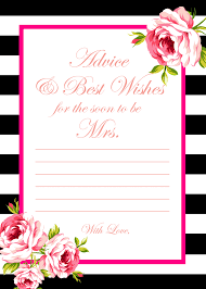 bridal shower best wishes free printable bridal shower cards www shahrour info