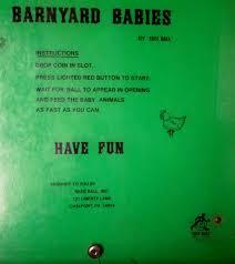 barnyard babies skee ball arcade treasure or please unplug