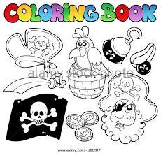 pirate treasure coloring book stock photos u0026 pirate treasure