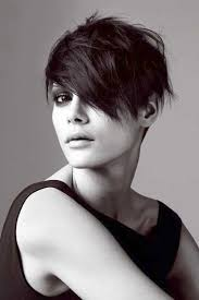 asymmetrical pixie cut for round face google search hairstyle