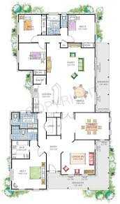 Narrow Block Floor Plans 146 Best House Plans Images On Pinterest House Floor Plans