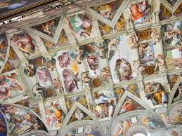 leonardo da vinci ceiling fresco artwork artists pinterest michelangelo michelangelo painted the ceiling of the sistine chapel
