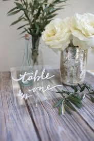 acrylic table numbers wedding diy gilded acrylic signs for weddings and events buy acrylic print