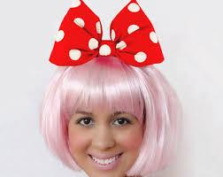 Pink Minnie Mouse Halloween Costume Daisy Duck Bow Light Purple Minnie Mouse Bow Headband Daisy