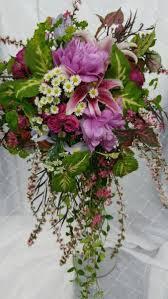 Cascading Bouquet Bohemian Bridal Cascading Bouquet Favorite Bridal Flowers