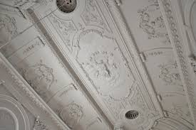 Baroque Ceiling by Old Catholic Church Possibly By D Marot Or N Kruysselbergen In