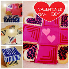 Homemade Valentines Day Gifts by Diy Valentines Day Gift Exploding Love Box Easy And Quick