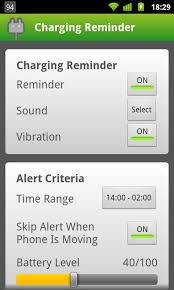 android reminders charging reminder android apps on play