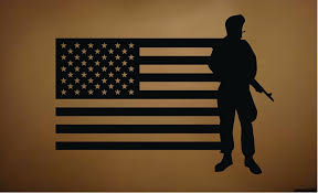 Military Home Decorations by Amazon Com Military Soldier Army Men Vinyl Wall Decal Sticker