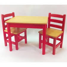 Toddler Table And Chair Sets Apple Furniture Just For Kids Table And Chairs Set Red And