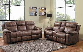 Microfiber Recliner Sofa by Homelegance Brooklyn Heights Reclining Sofa Set Polished