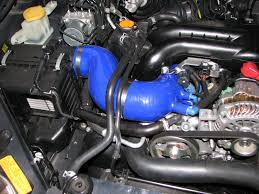 subaru grf silicone inlet pipe u0026 maf hose combo kit