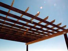 How To Build Your Own Pergola by How To Make A Pergola Box Type Free Plans Http Www Buildeazy