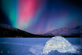 when to see northern lights in alaska alaska northern lights with igloo
