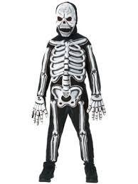 Boys Skeleton Halloween Costume Totally Skelebones Child Costume Horror Boys Costumes