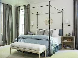 walls curtains and headboard make this small gray bedroom look bigger wall lamp for make a small bedroom look bigger ideas dark