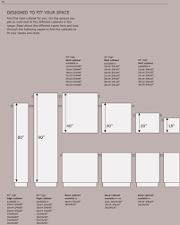 Standard Kitchen Cabinet Door Sizes Common Cabinet Sizes Aristokraft Cabinet Specifications