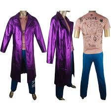 squad joker jared leto deluxe trench coat jacket