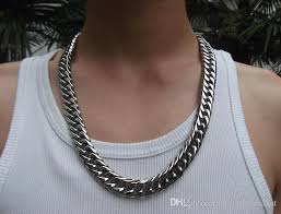 men necklace jewelry images 2018 wholesale jewelry gold plated mens necklace 8mm 16inch from jpg