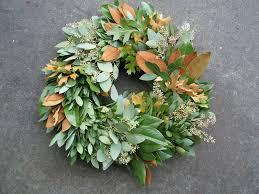 Magnolia Leaf Wreath Wreaths Pacific Coast Evergreen