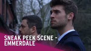 emmerdale spoilers joe confronts drug dealer simon watch the