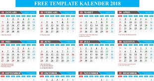 Kalender 2018 Hari Raya Puasa Gratis Free Template Kalender 2018 Lengkap Hijriyah Dan