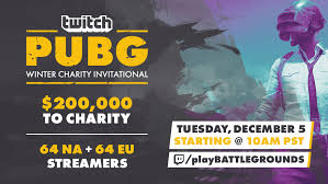 pubg unblocked chicken dinners for charity don t miss the 200k twitch pubg