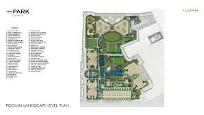 Toddler Floor Plan by Luxury Residences And Smart Homes In Worli The Park Mumbai