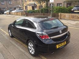 2006 vauxhall astra sxi 1 6 manual petrol 3dr coupe in north