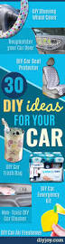 Home Products To Clean Car Interior 30 Insanely Cool Diy Ideas For Your Car Diy Joy