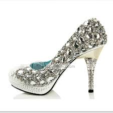 wedding shoes high jiumu bling gem rhinestone sequin high heel bridal wedding shoes