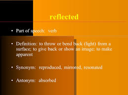 Back Light Definition Shifting Perspectives Unit 6 Part 1 Vocabulary And Theme Light