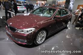 bmw 6 series gt showcased at iaa 2017 live indian autos blog