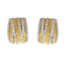 gold and diamond earrings 18 karat yellow gold diamond earrings diamond jewelry