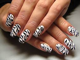 zebra pattern nail art zebra nails design how you can do it at home pictures designs