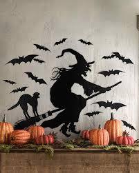halloween wall art clip art and templates for halloween decorations martha stewart