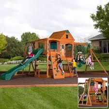 Small Backyard Swing Sets by 76 Best Swing Sets Images On Pinterest Swing Sets Backyard