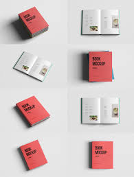 realistic book mockup template pack free psd download download psd