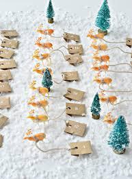 dashing through the snow reindeer advent calendar diy diy home