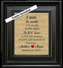 3rd wedding anniversary gifts for him 3rd wedding anniversary ideas tbrb info
