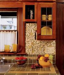 wallpaper designs for kitchen cabinets period u0026 revival arts u0026 crafts homes and the revival