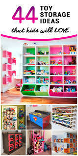 44 best toy storage ideas that kids will love toy storage
