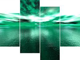 appealing green wall art decor home decor piece canvas green bay